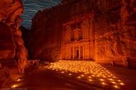 Petra, Jordan. Carved into the rock
